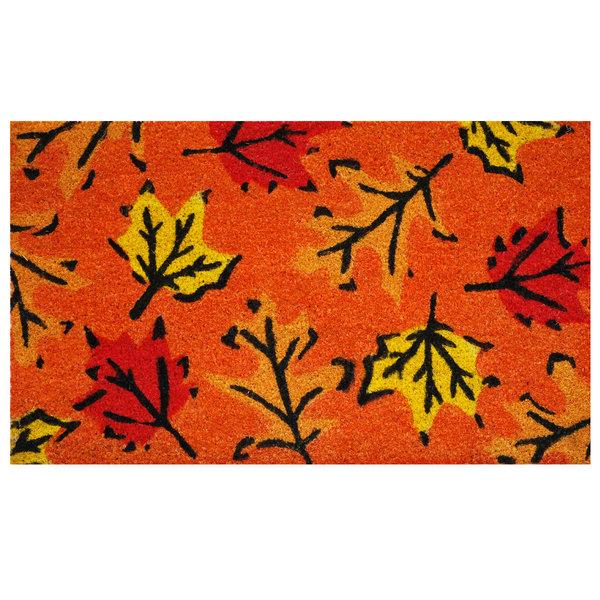 Calloway Mills Doormat   17x29   Fall Leaves