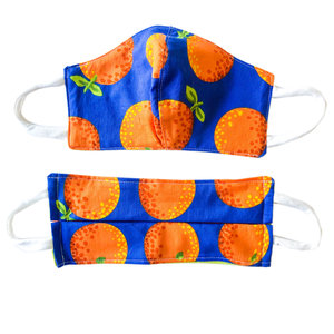 Common Dear Face Mask | Large Oranges