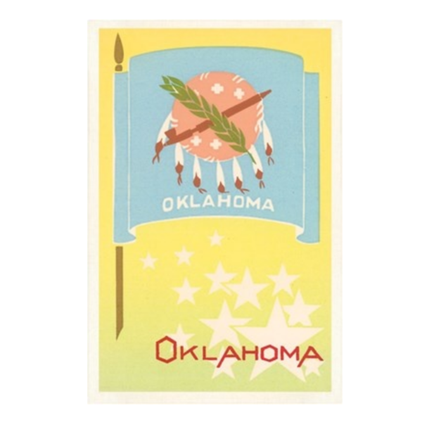 Found Image Postcard | Oklahoma | Variety