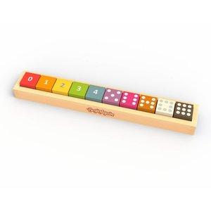 Begin Again Wood Counting Blocks | Set/10