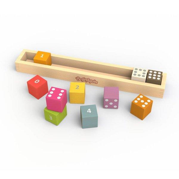 Begin Again Wood Counting Blocks   Set/10