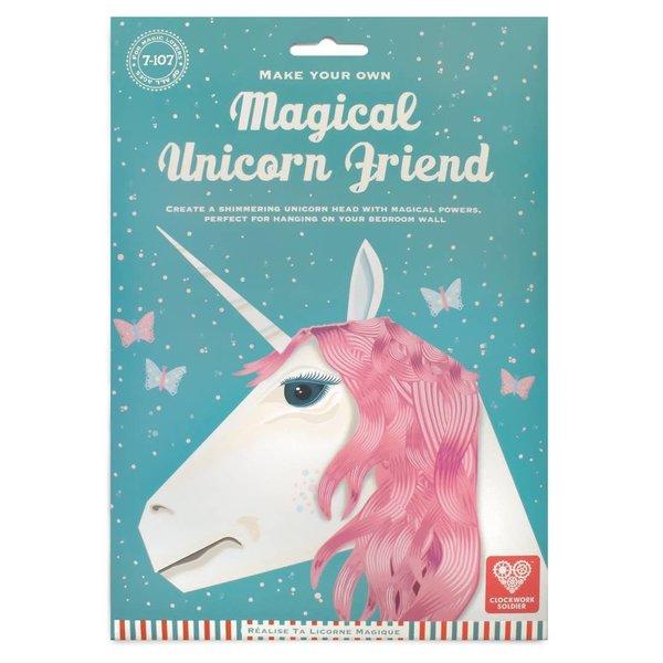 Clockwork Soldier 3D Trophy Head | Magical Unicorn