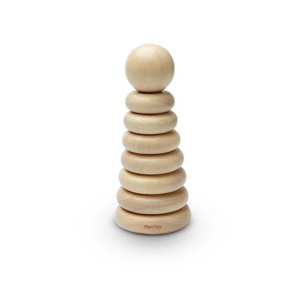 Plan Toys Toy   Natural Stacking Ring
