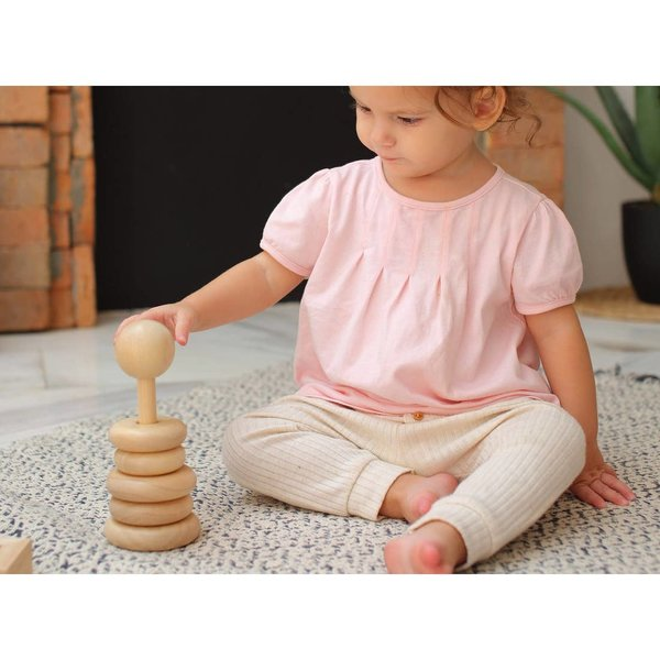 Plan Toys Toy | Natural Stacking Ring
