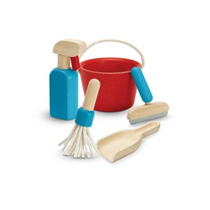 Plan Toys Toy | Cleaning Play Set