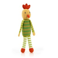 Pebble Crochet Rattle | Chicken