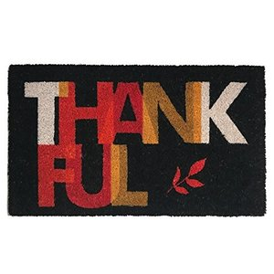 Calloway Mills Doormat | 17x29 | Thankful