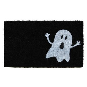 Calloway Mills Doormat | Black/White Ghost