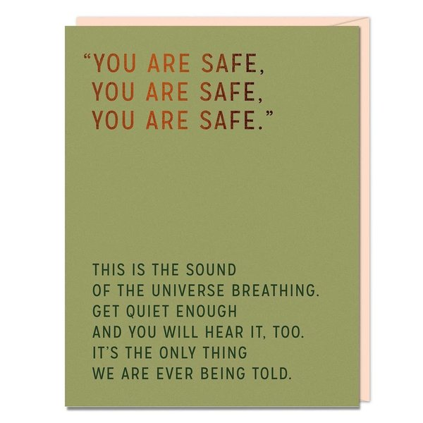 Emily McDowell Card   You Are Safe
