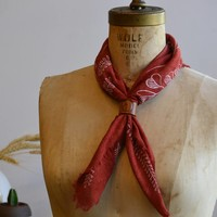 Leather Bandana Cuff | 3 Colors