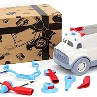 Green Toys Toy | Ambulance & Doctor's Kit