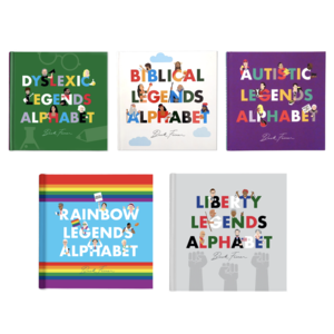 Alphabet Legends Alphabet Book | Legends