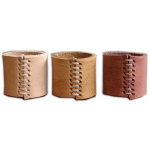 Eco Raw Studio Leather Bandana Cuff | 3 Colors