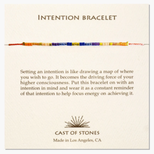 Cast of Stones Bracelet | Intention Micro Beads | Variety
