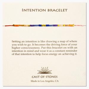 Cast of Stones Intention Bracelet | Micro Beads | Variety
