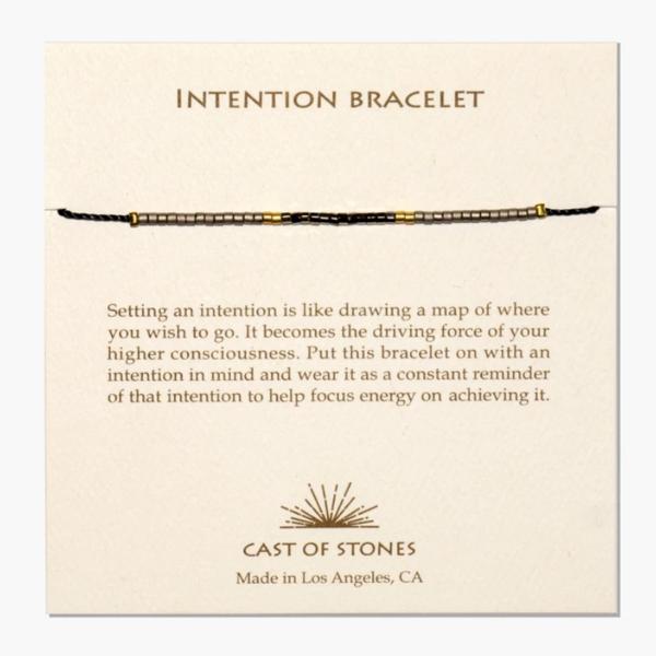 Cast of Stones Bracelet | Intention Micro Beads | Variety