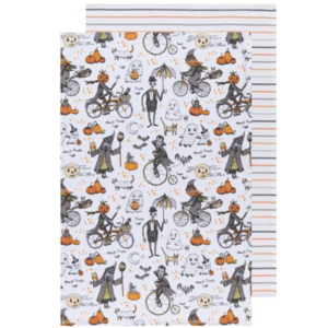 Now Designs Tea Towel | Set of 2  | Spooktacular
