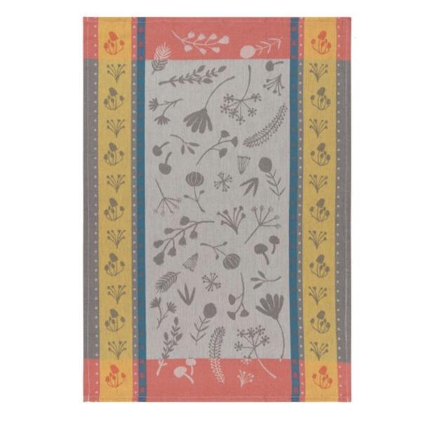 Now Designs Tea Towel   Goldenbloom Jacquard
