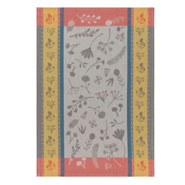 Tea Towel   Goldenbloom Jacquard