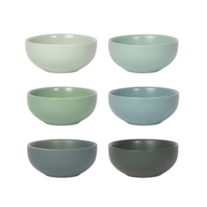 Now Designs Pinch Bowls | Leaf | Set of 6