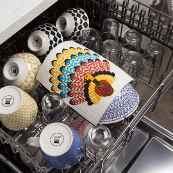 Now Designs Swedish Dishcloth | Tommy Turkey