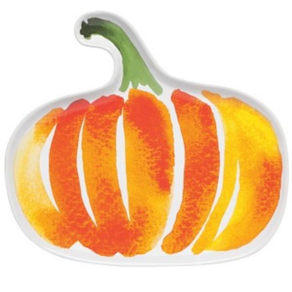 Now Designs Dish   Ceramic Pumpkin