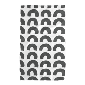 Geometry House Tea Towel | Microfiber | Black Hills