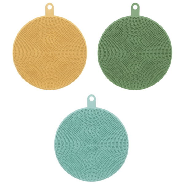 Now Designs Silicone Scrubbers | Chunky
