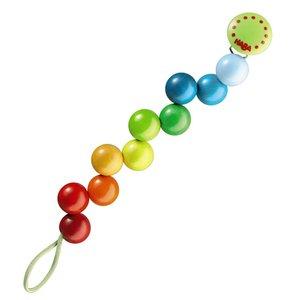 Haba Pacifier Chain | Rainbow Pearls
