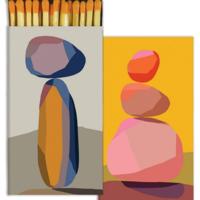 "HomArt Matchbox | 4.5"" x 2.25"" x .75"" | Variety"