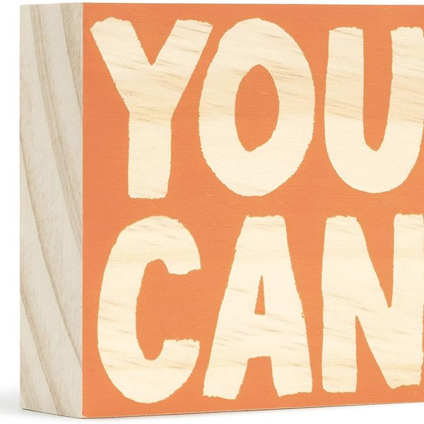 Compendium Wood Sign | Mini | You Can