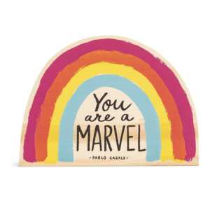 Wood Sign | Small | You Are a Marvel