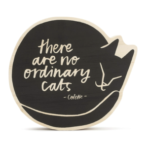 Wood Sign | Small | No Ordinary Cats
