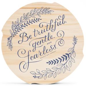 Compendium Wood Sign | Medium | Be Truthful...