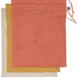 Now Designs Produce Bag | Set of 3 | Marche Coral