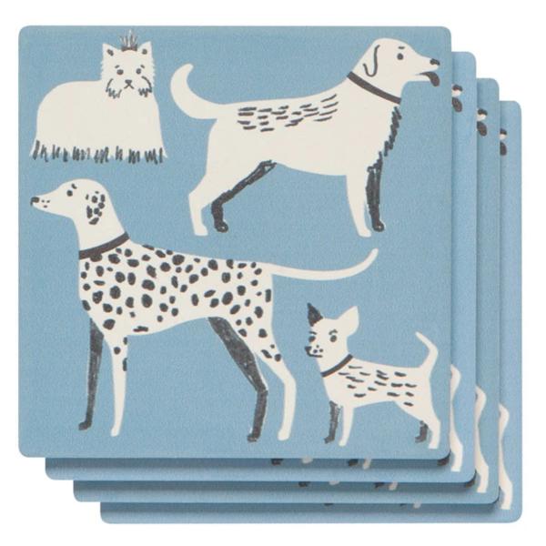 Now Designs Coasters | Soak Up | Dog Days