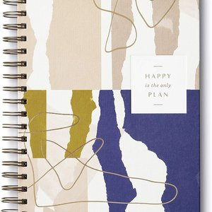 Planner | 17-Month Undated | Happy Is the Only Plan