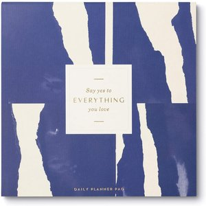 Compendium Daily Planner Pad | Say Yes to Everything