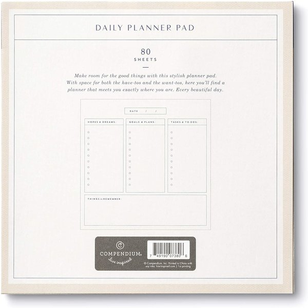 Daily Planner Pad | Say Yes to Everything