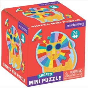 Chronicle Books Puzzle | Mini 24pc | Rainbow Lion
