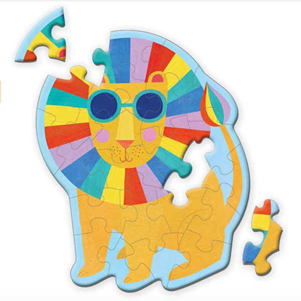 Puzzle | Mini 24pc | Rainbow Lion