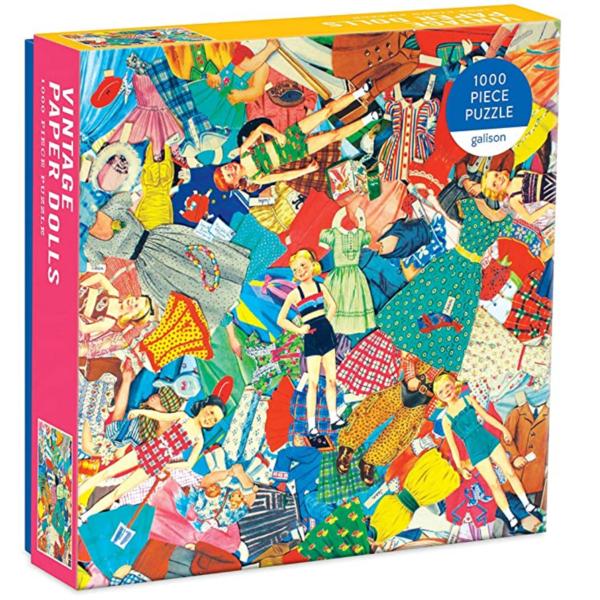 Puzzle | 1000pc | Vintage Paper Dolls