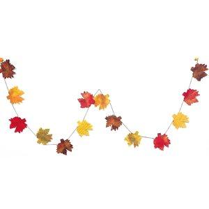 Giftsland Felt Garland | Autumn Leaves