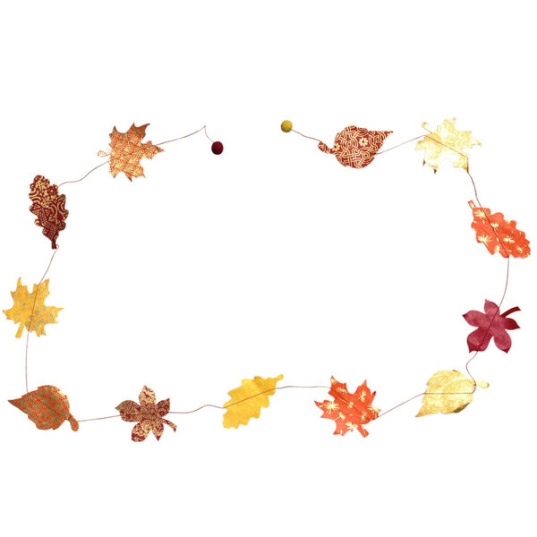 Giftsland Eco Paper Garland | Fall + Halloween