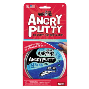 "Crazy Aaron's Puttyworld Angry Putty | 4"" Tin 