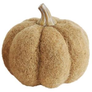 Creative Co-Op Felt Pumpkin