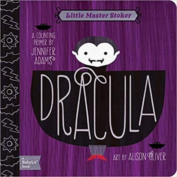 Gibbs Smith Board Book   Dracula: A BabyLit® Counting Primer