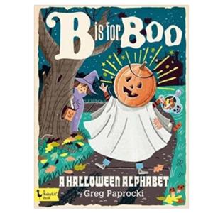 Gibbs Smith Board Book | B is for Boo | A Halloween Alphabet