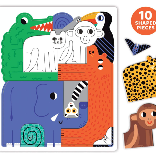 Chronicle Books Puzzle | We Go Together Jungle