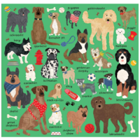 Chronicle Books Puzzle | 500pc | Doodle Dogs